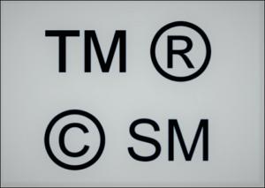 Znaki ochronne ®, ©, TM, SM – co oznaczają?